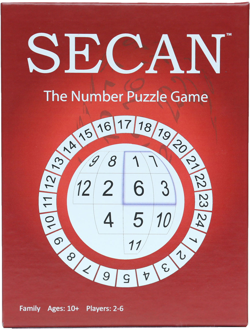 SECAN, the number puzzle game