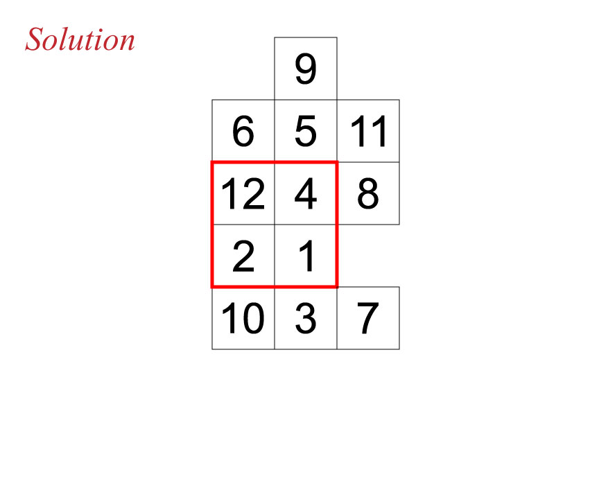 Secan number puzzle 110716 solution