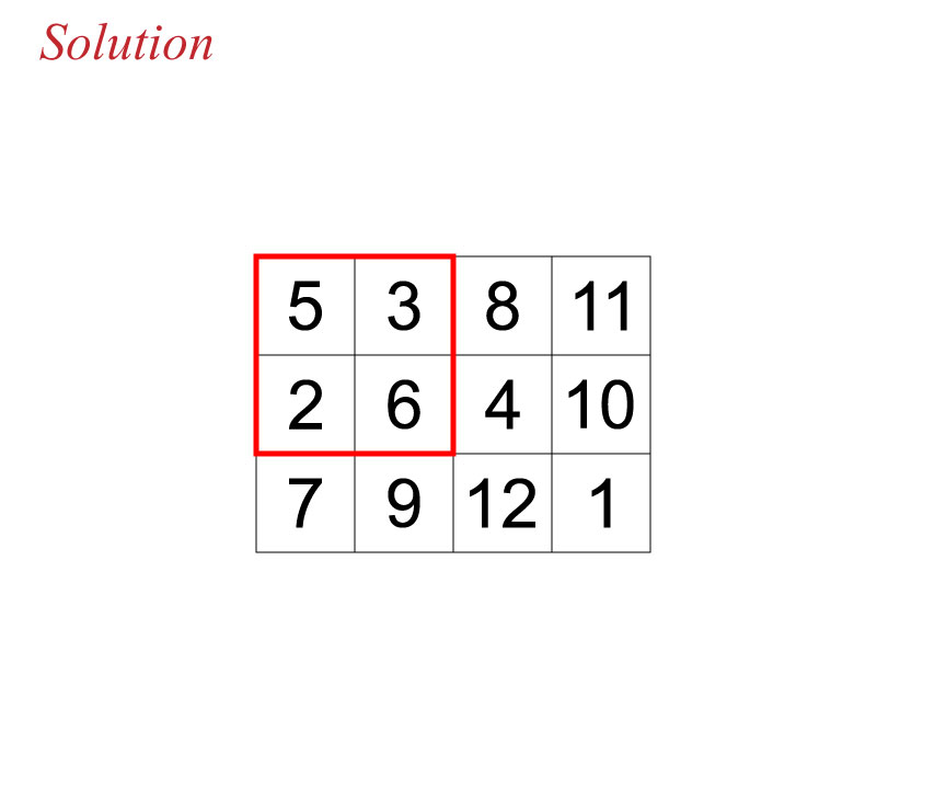 Secan number puzzle solution 120116